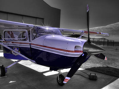 Stellenbosch Photograph - C A P Cessna 182 Skylane G1000 Fsx V2 by John Straton