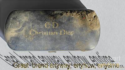 Pyrography - C D   Dior by Emil Jianu
