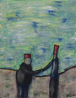 Painting - C Est Fait by Mario MJ Perron