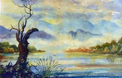 Painting - C01. Nw Scotland Uk by Les Melton