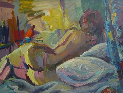 Painting - C01. Siesta by Les Melton