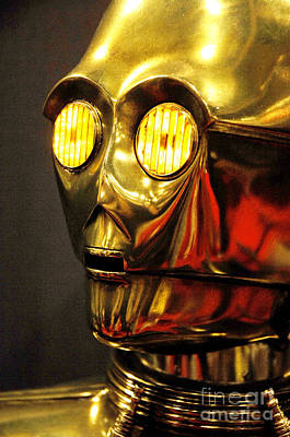 Screen Used Photograph - C3-po On Display by Micah May