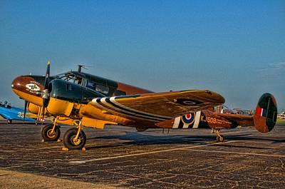 Photograph - C45 Expediter Airplane by Tim McCullough