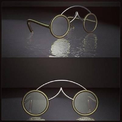 Spectacles  Art Print