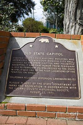 Ca-153 Old State Capitol Art Print by Jason O Watson