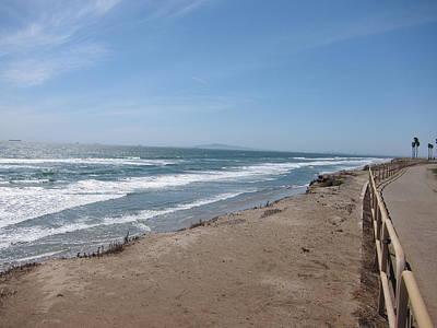 Surf Photograph - Ca Beach - 12125 by DC Photographer