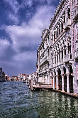 Photograph - Ca' D'oro Venice by Carol Japp