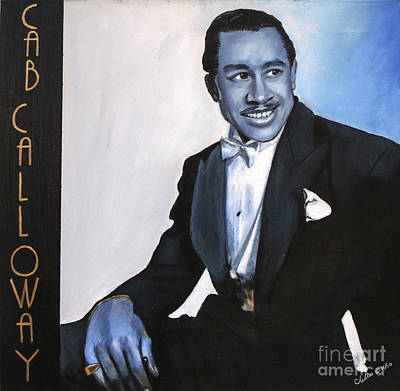 Painting - Cab Calloway by Chelle Brantley