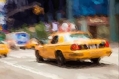 Photograph - Cab Ride by Karol Livote