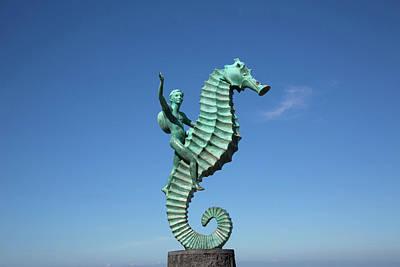 Malecon Photograph - 'caballero Del Mar' (the Seahorse by Douglas Peebles
