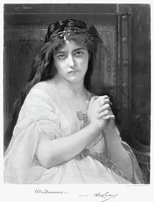 Desdemona Painting - Cabanel Desdemona by Granger