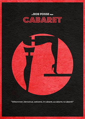 Cabaret Art Print by Ayse Deniz