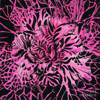 Painting - Cabbage Ornamented by Lizi Beard-Ward