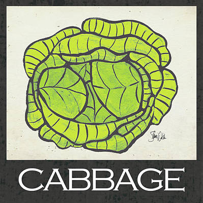 Painting - Cabbage by Shanni Welsh