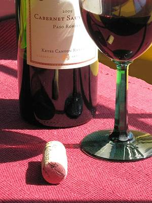 Photograph - Cabernet Collage by Carolyn Jacob
