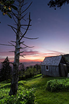 Photograph - Cabin At The Top by Debra and Dave Vanderlaan