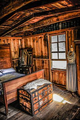 Cabin Bedroom Original by Chris Smith
