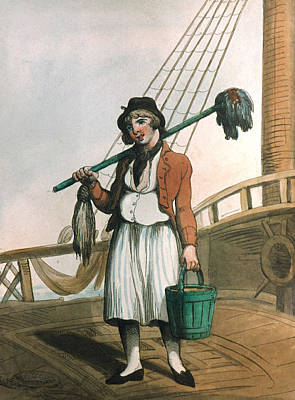 Painting - Cabin Boy, 1799 by Granger