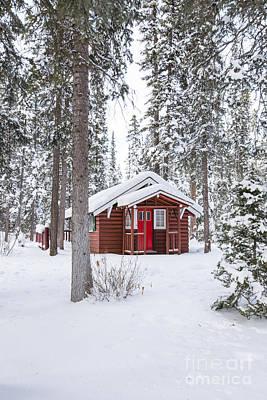 Charming Cottage Photograph - Cabin Fever by Evelina Kremsdorf