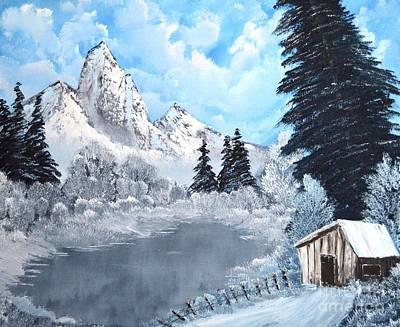Cabin Fever Art Print by John Kemp