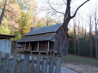 Photograph - Cabin In Cade's Cove by Regina McLeroy