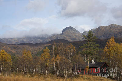 Norway Photograph - Cabin In The Mountains by Gry Thunes