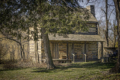 Tennessee Photograph - Cabin In The Wood by Heather Applegate