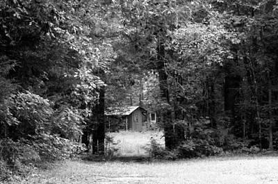 Photograph - Cabin In The Woods  by Kim Galluzzo Wozniak