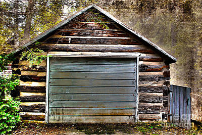 Photograph - Cabin In The Woods by Nina Silver