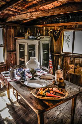 Cabin Interior Original by Chris Smith