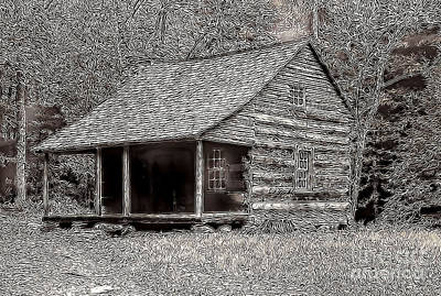 Figment Photograph - Cabin Of Imagination by Robert Kleppin