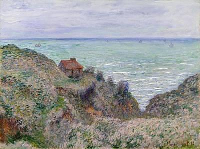 Cabin Of The Customs Watch Art Print by Claude Monet