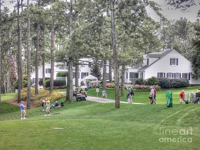Augusta Golf Photograph - Cabin On The Course by David Bearden