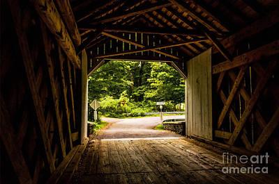 Photograph - Cabin Run Bridge I by Debra Fedchin