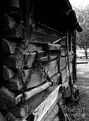 Cabin Wall II Art Print by Julie Dant