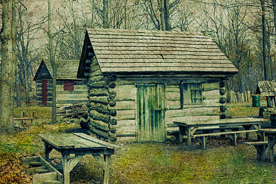 Cabins In The Woods Art Print