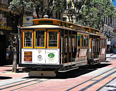 Photograph - Cable Car - San Francisco by John Waclo