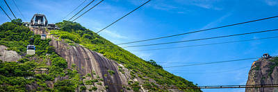 Photograph - Cable Car Station On Mountain by Celso Diniz