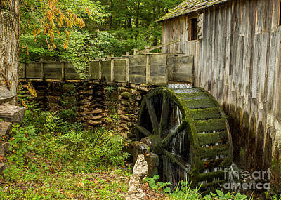 Cable Mill Cades Cove Art Print