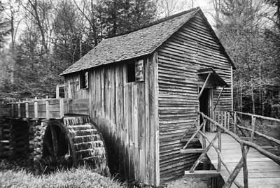 Photograph - Cable Mill Cades Cove by Harold Rau