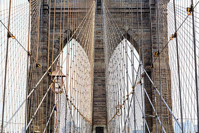 Brooklyn Photograph - Cabled Archways by Francois Roughol