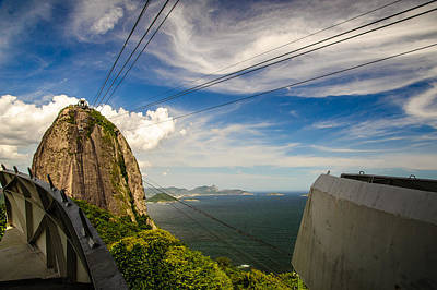Photograph - Cableway To Sugarloaf Mountain by Celso Diniz