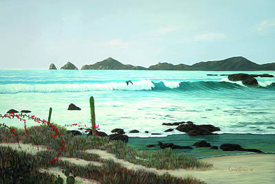 Painting - Cabo Magic by Chris MacClure