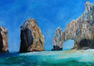 Painting - Cabo San Lucas by Anais DelaVega