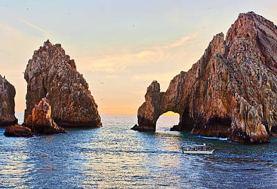 Cabo San Lucas Arc Print by Marcia Colelli