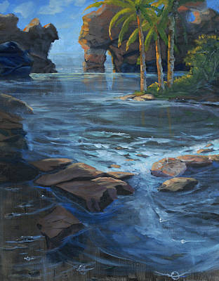 Sea Of Cortez Painting - Cabo San Lucas by Heather Coen