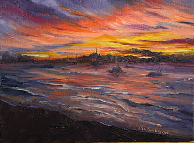 Painting - Cabo San Lucas by Mary Wykes