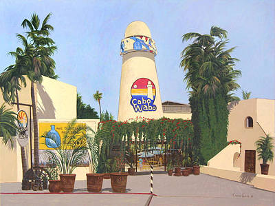 Van Halen Painting - Cabo Wabo Cantina by Chris MacClure
