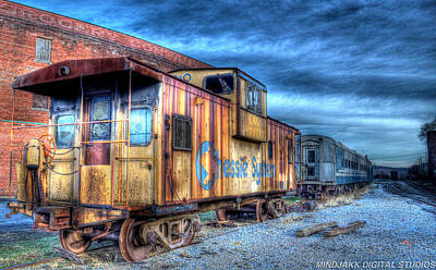 Photograph - Caboose Of A Train by Jonny D