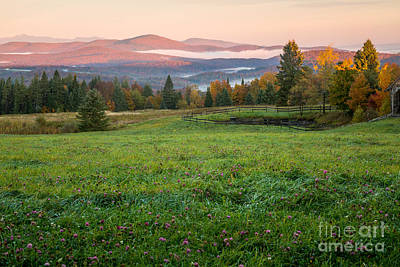 Photograph - Cabot Plains Dawn by Susan Cole Kelly